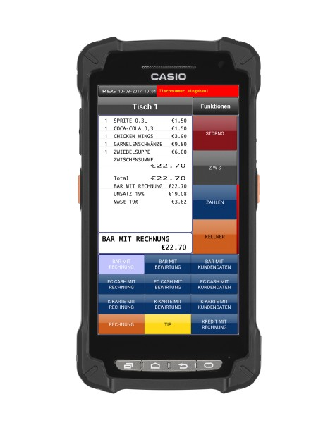 Casio IT-G400 Stand-alone-Kasse