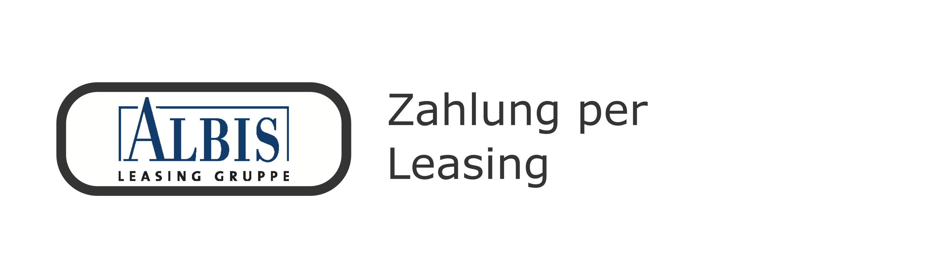 Zahlung per Leasing
